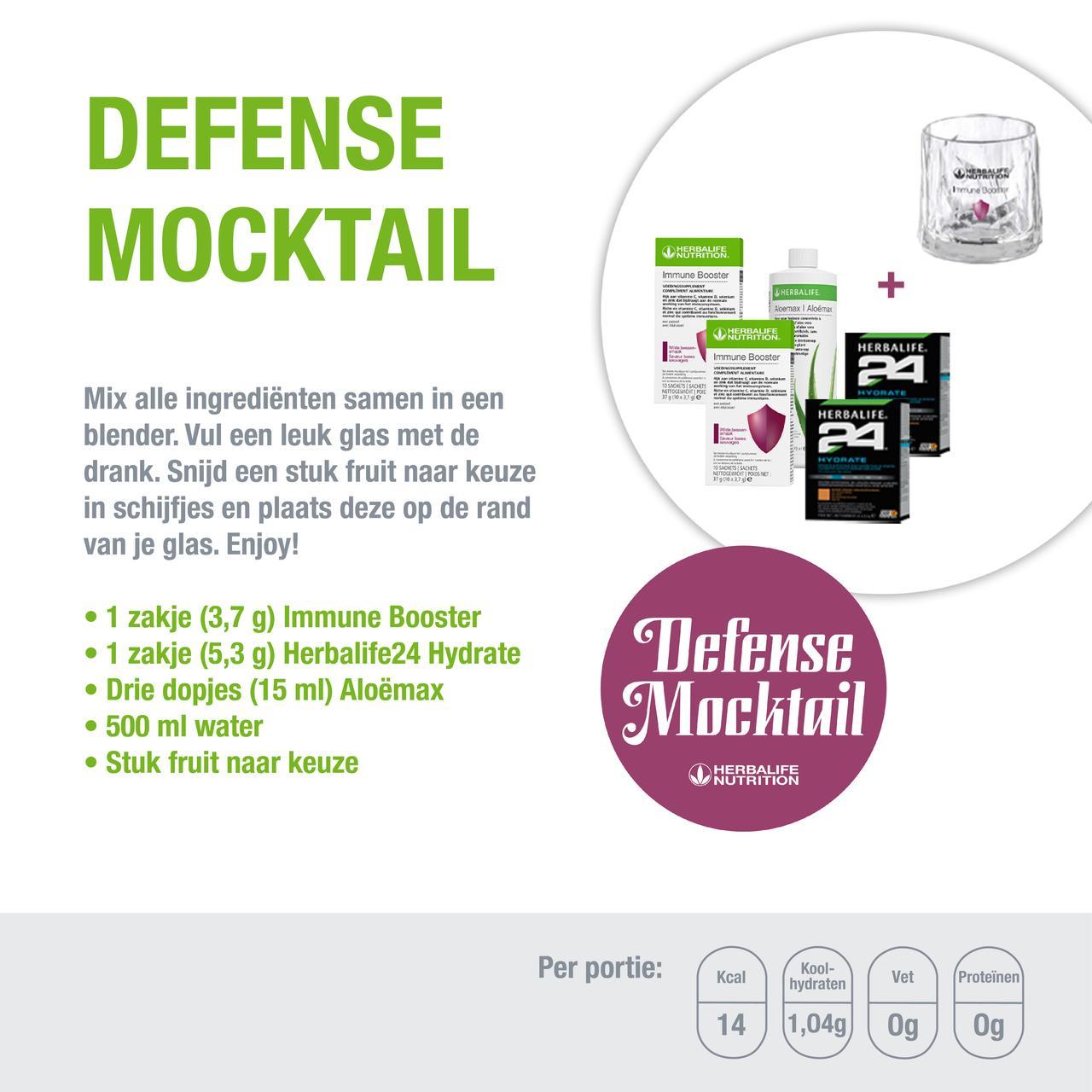 Herbalife Defense Mocktail