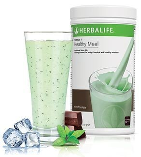 Formula 1 Voedingsshake Mint Chocolate Crunch