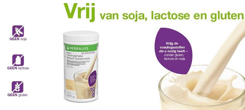 Voedingsshake Soja-, Lactose en Glutenvrij