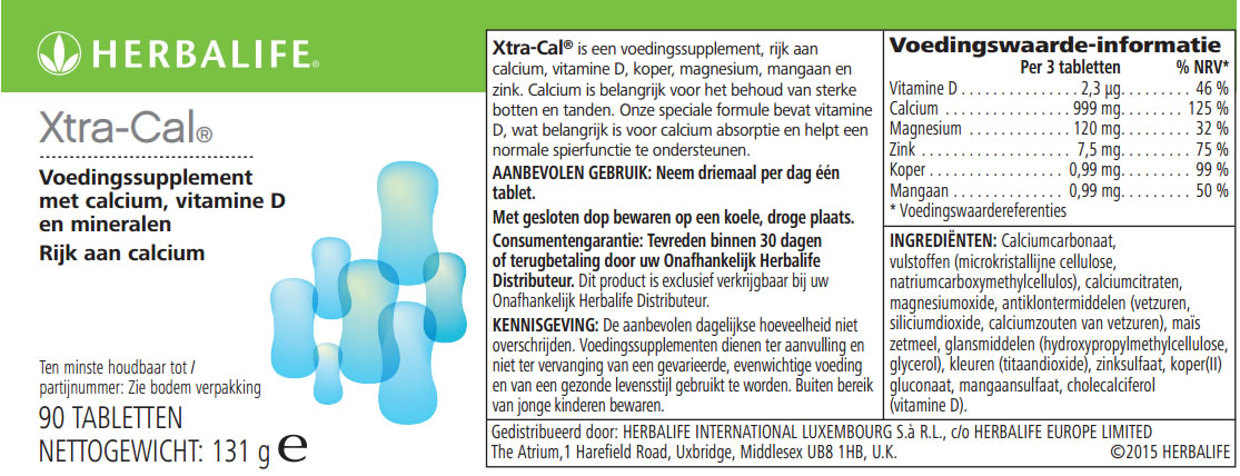 Xtra-Cal Label