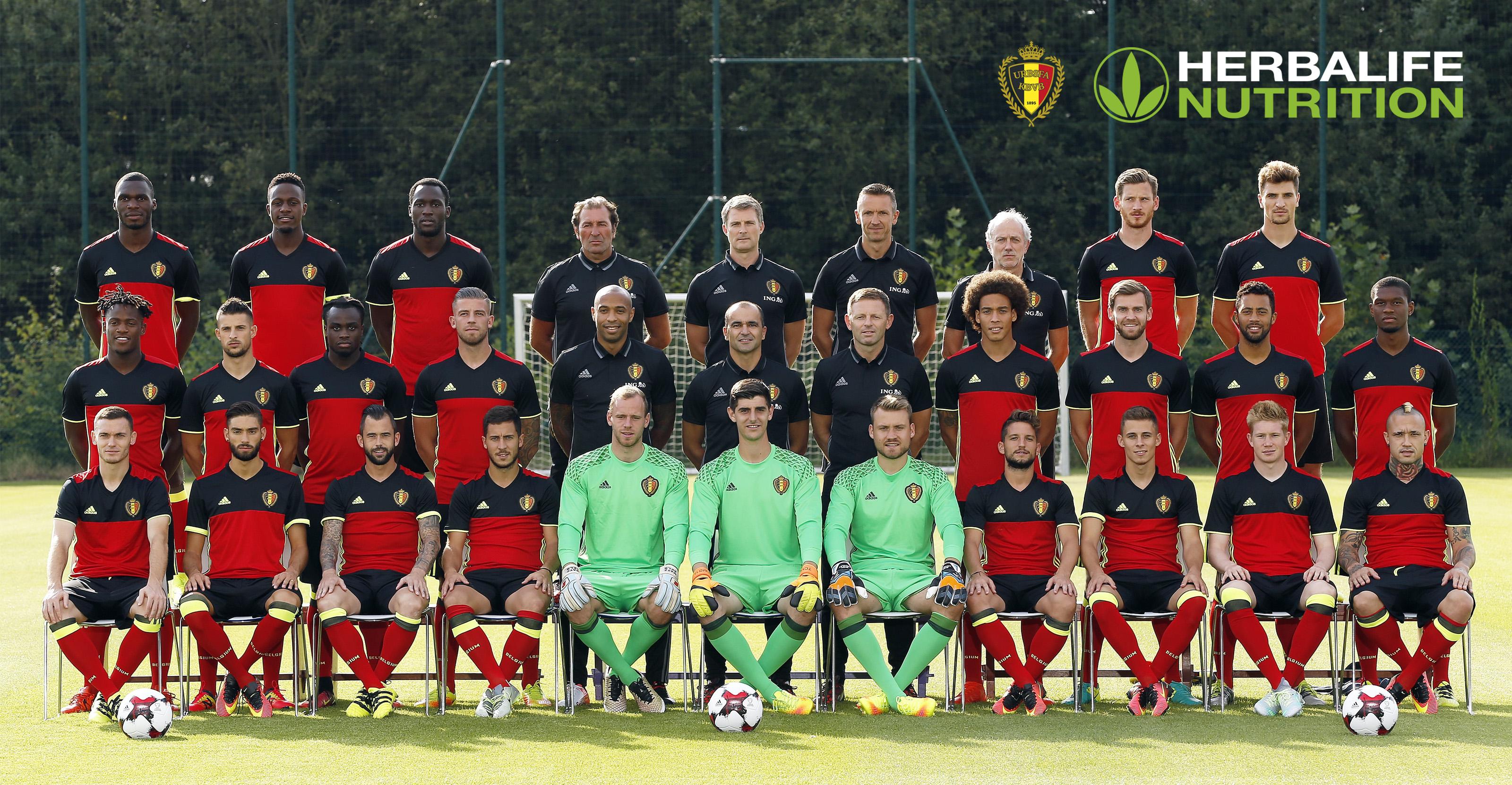 Herbalife België is vanaf vandaag de officiële voedingspartner van de Koninklijke Belgische Voetbalbond