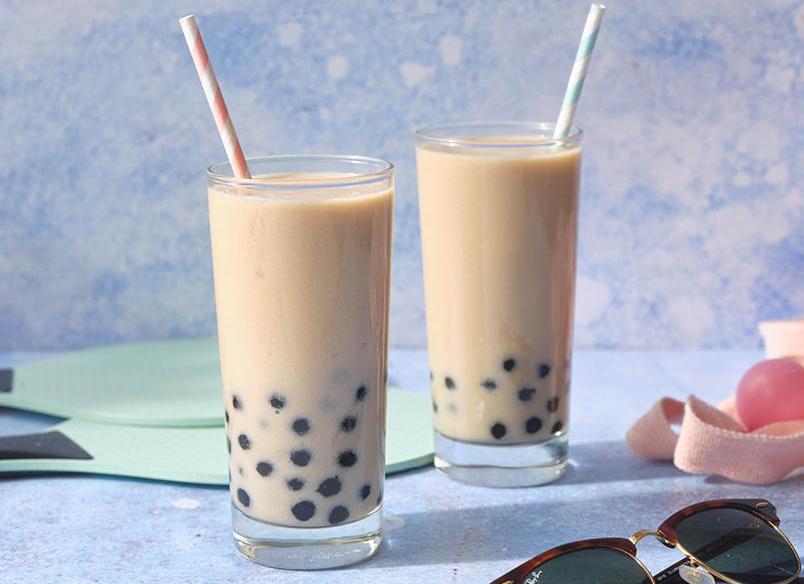 Herbalife Recept: Mango en Vanille Bubble Tea