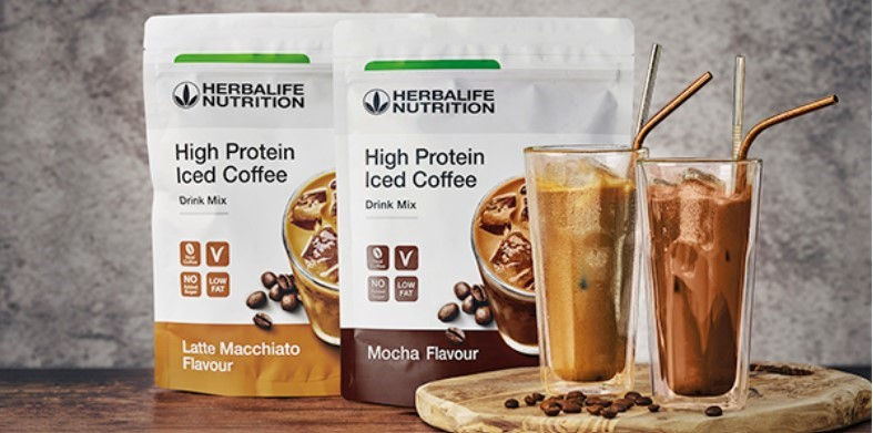 High Protein Iced Coffee Mokka