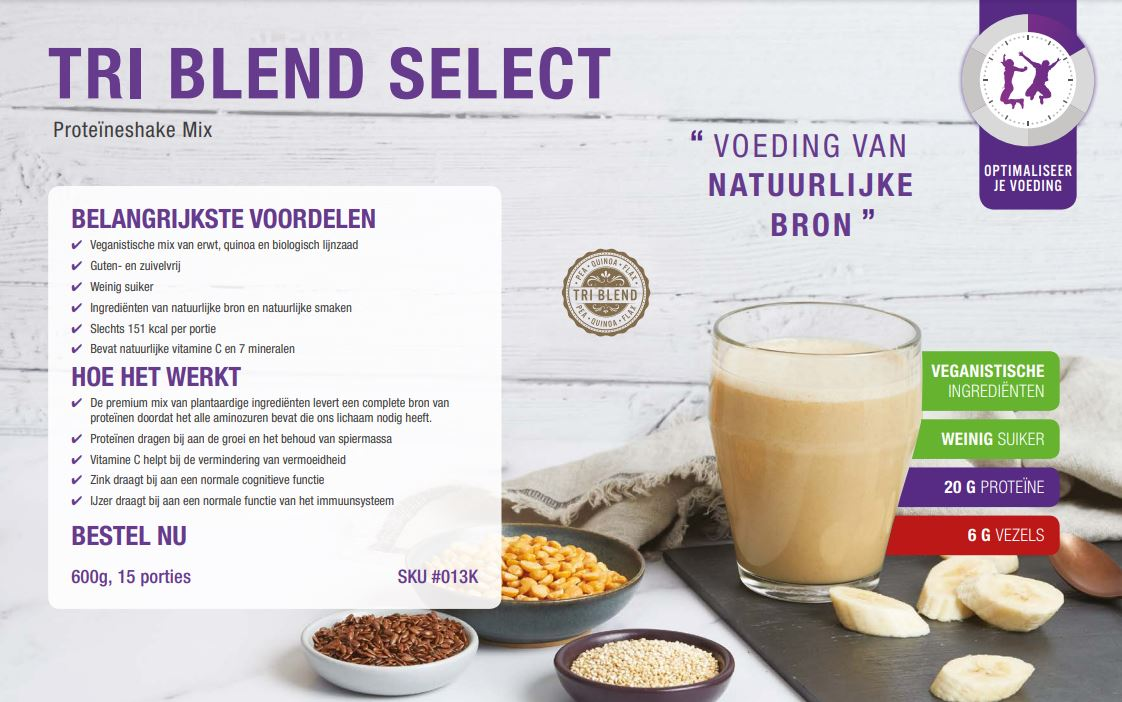 Product In The Spotlight: Herbalife TRI Blend Select