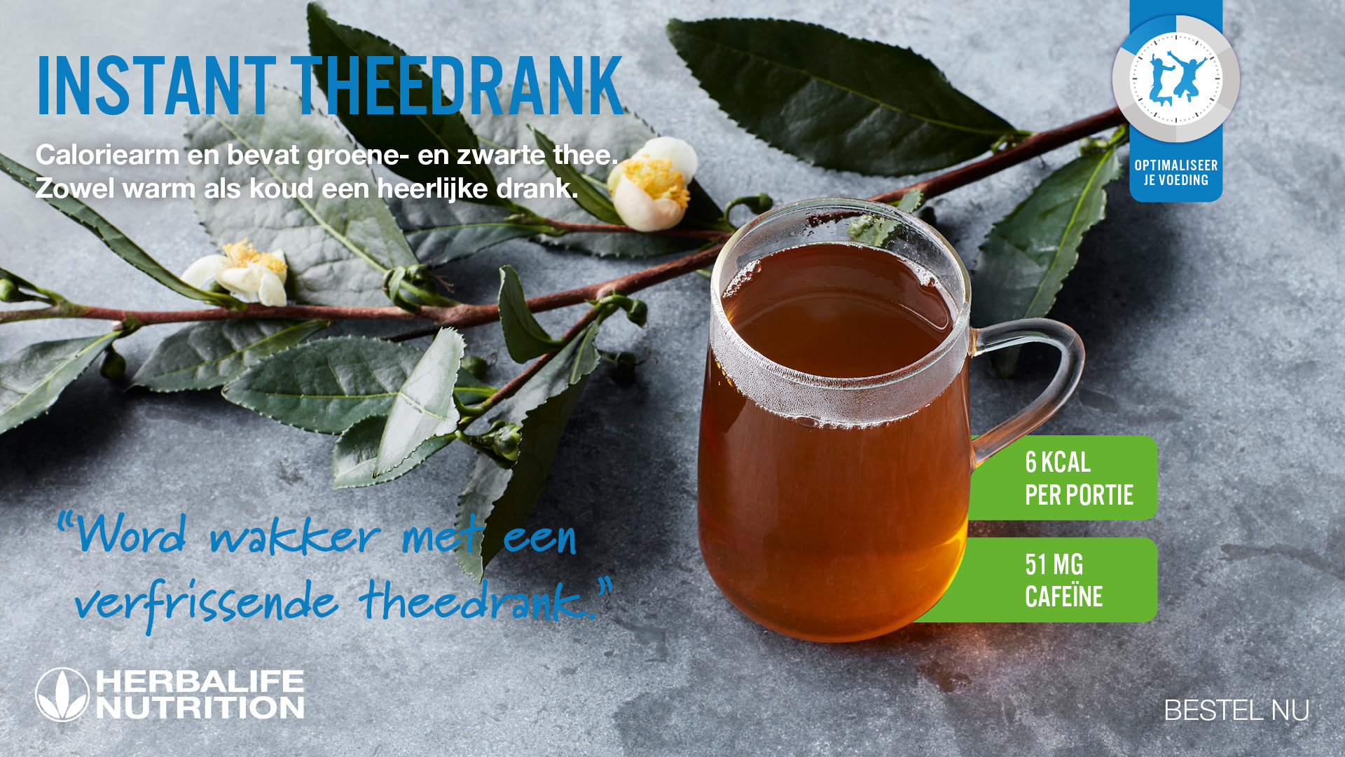 Herbalife Instant Theedrank