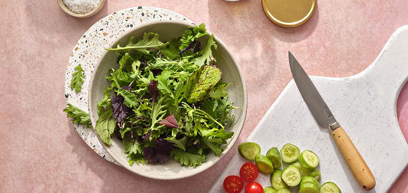 Zomerse salade dressing